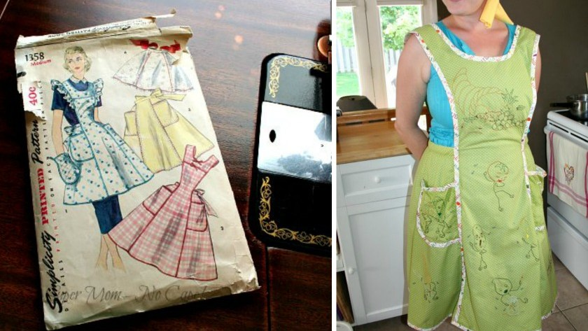 New Vintagey Thanksgiving Apron