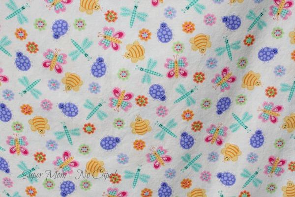 Cute bug fabric