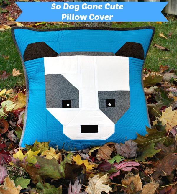 So Dog Gone Cute Bhodi Pillow