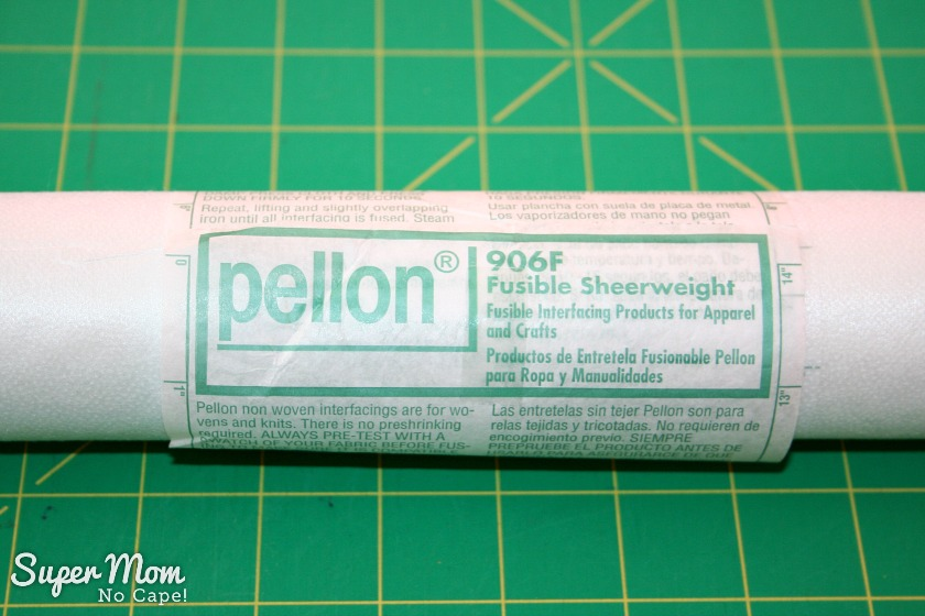 3. Wrap the paper instructions around the tube and secure with tape.