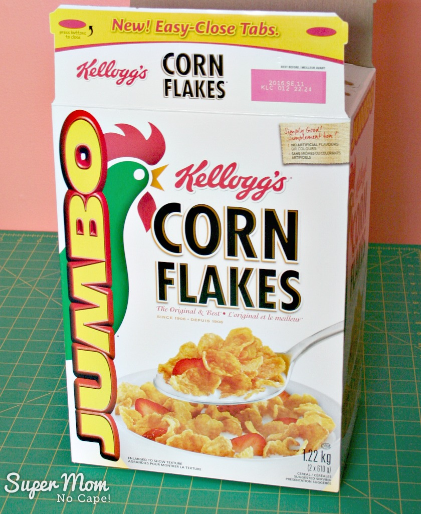 Costco Sized Corn Flakes box