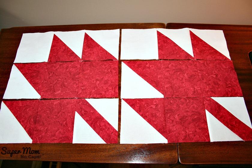 Maple Leaf Blocks - Step 9A