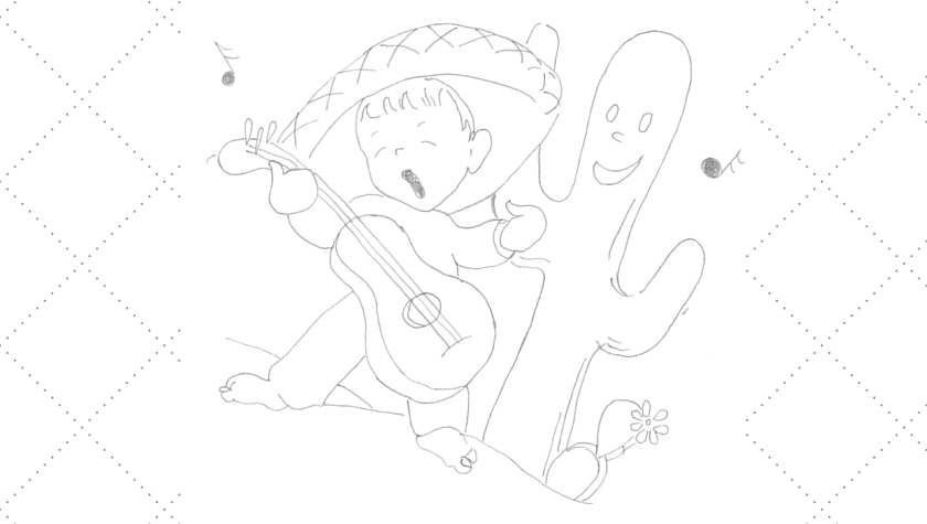 Vintage Workbasket - Embroidery Pattern - Little Boy Playing Guitar