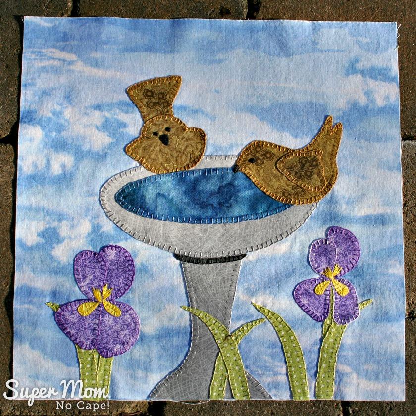 Block 8 In Our Garden BOM Scrap Drawer Version