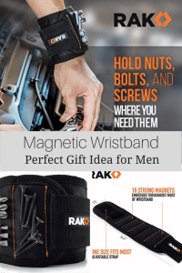 Great Gift Idea for Men - Magnetic Wrist Band