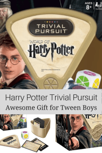 Great Gift Ideas for Tween Boys - Harry Potter Trivial Pursuit