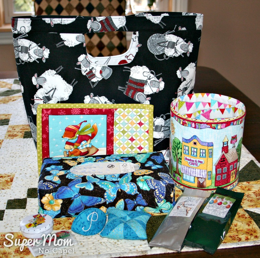 Santa Sack Swap 2016 - All My Gifts for Pauline