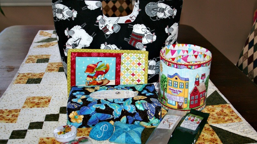 Santa Sack Swap 2016 – My Gifts for Pauline