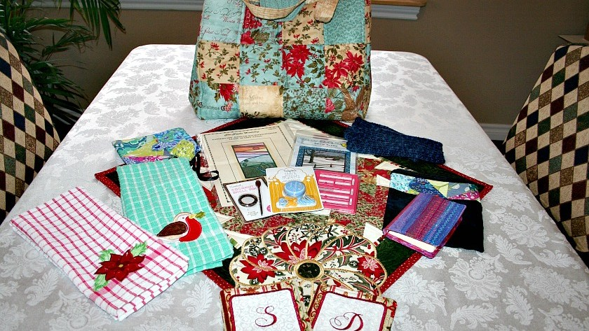 Santa Sack Swap 2016 – My Gifts from Pauline