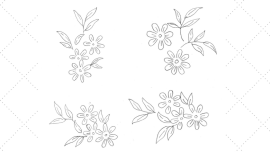 Vintage Embroidery Monday - Simply Daisies - feature image