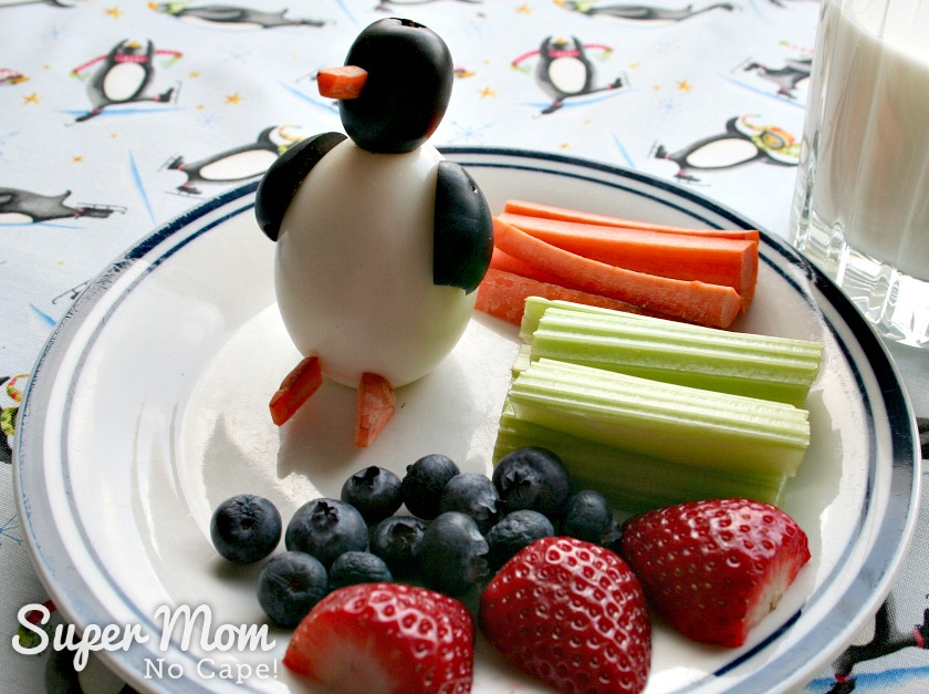 Delicious Ways to Use Up Hard Boiled Eggs - Egg Penguins