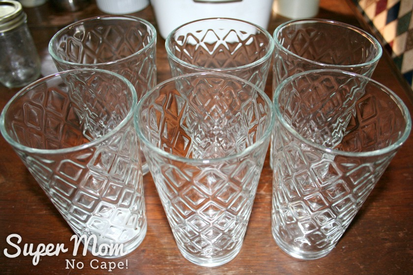 How to Set Up a Kitchen on the Cheap - drinking glasses