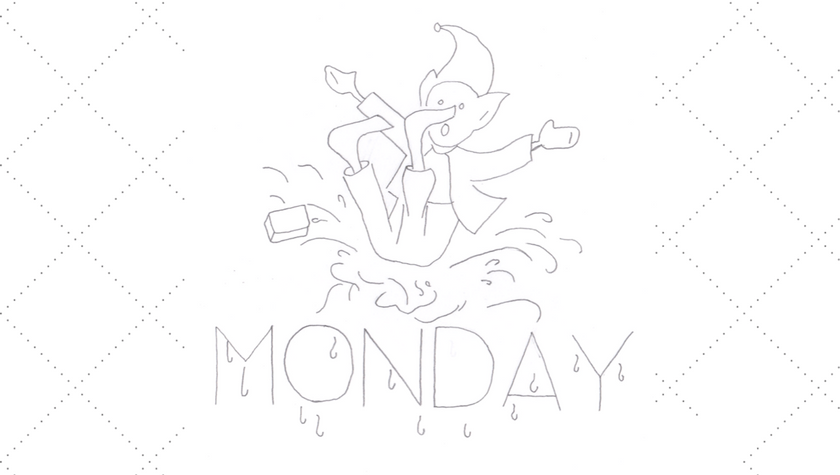 Vintage Embroidery Monday - DOW Monday Brownie