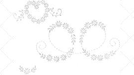 Vintage Embroidery Monday - Lazy Daisy Motifs