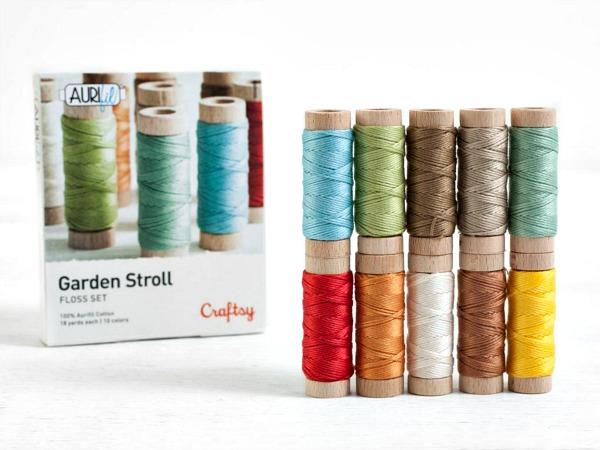 Aurifil Garden Stroll Embroidery Floss Set ad image