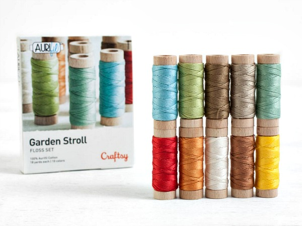 Aurifil Garden Stroll Embroidery Floss Set ad image