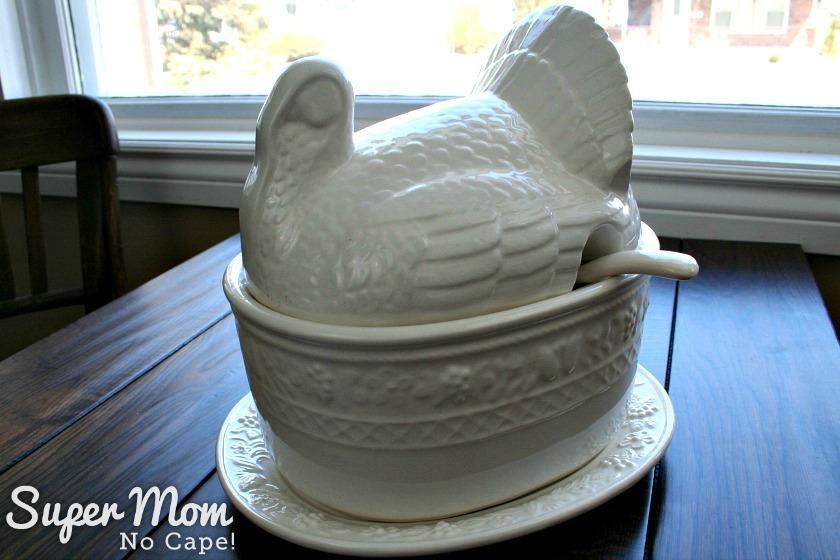 Soup Tureen shaped like a turkey