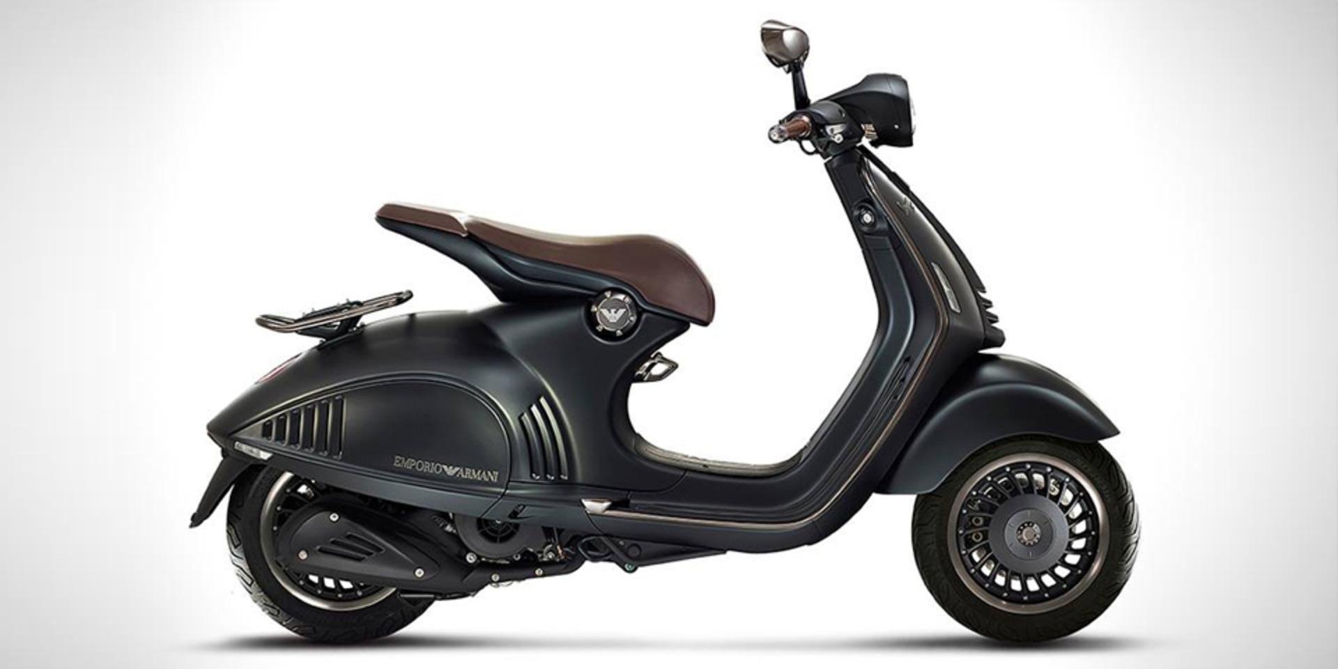 哥騎的是時尚!ARMANI VESPA 946限量版發表 | SUPERMOTO8