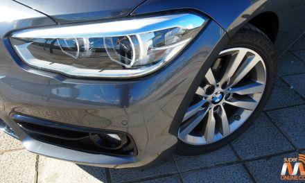 Al volante del BMW Serie 1 2016