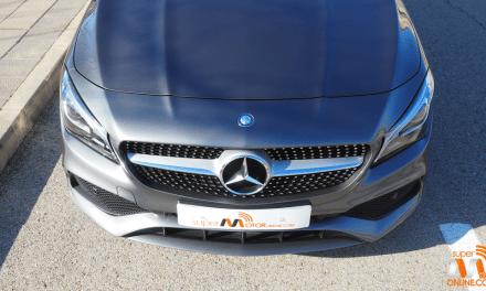 Al volante del Mercedes Benz CLA Shooting Brake 2017