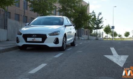 Al volante del Hyundai i30 2017