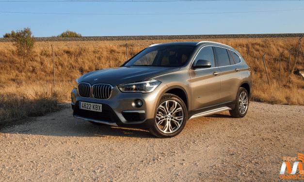 Al volante del BMW X1 2017