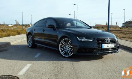 Al volante del Audi A7 Sportback 2017