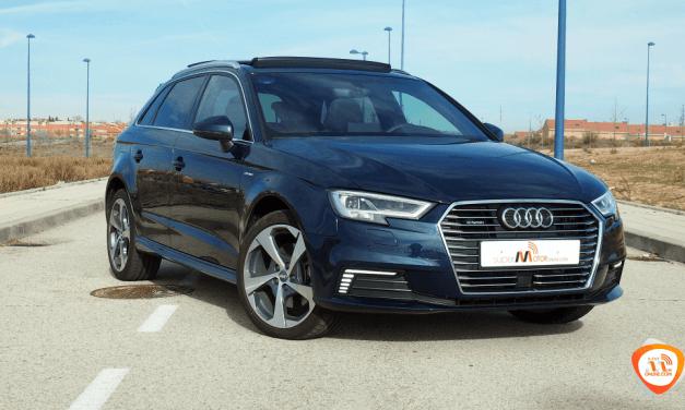 Al volante del Audi A3 e-tron 2018