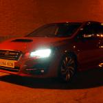 Al volante del Subaru Levorg 2018