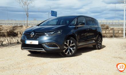 Al volante del Renault Espace 2018