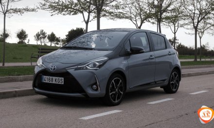 Al volante del Toyota Yaris Hybrid 2018