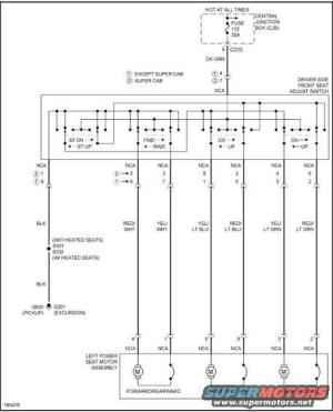 Ford F250 Power Seat Electrical Diagram ~ Wiring Diagram