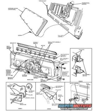 1983 Ford Bronco Tailgate Tech picture | SuperMotors