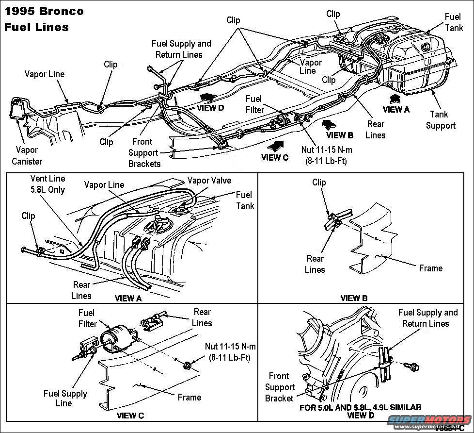 1983 ford bronco 90 96 fuel pump system picture supermotors rh supermotors 2002 explorer rear suspension diagram 2002 explorer rear suspension