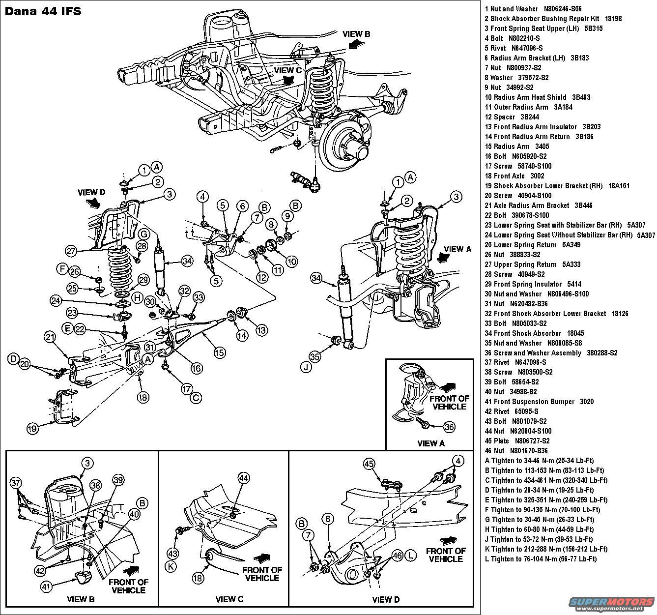 Ford F 150 Front Suspension Diagram