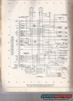 89 50L engine wiring diagram  Page 3  Ford Bronco Forum