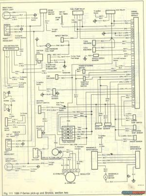 1986 Ford Bronco Wiring Diagrams picture | SuperMotors