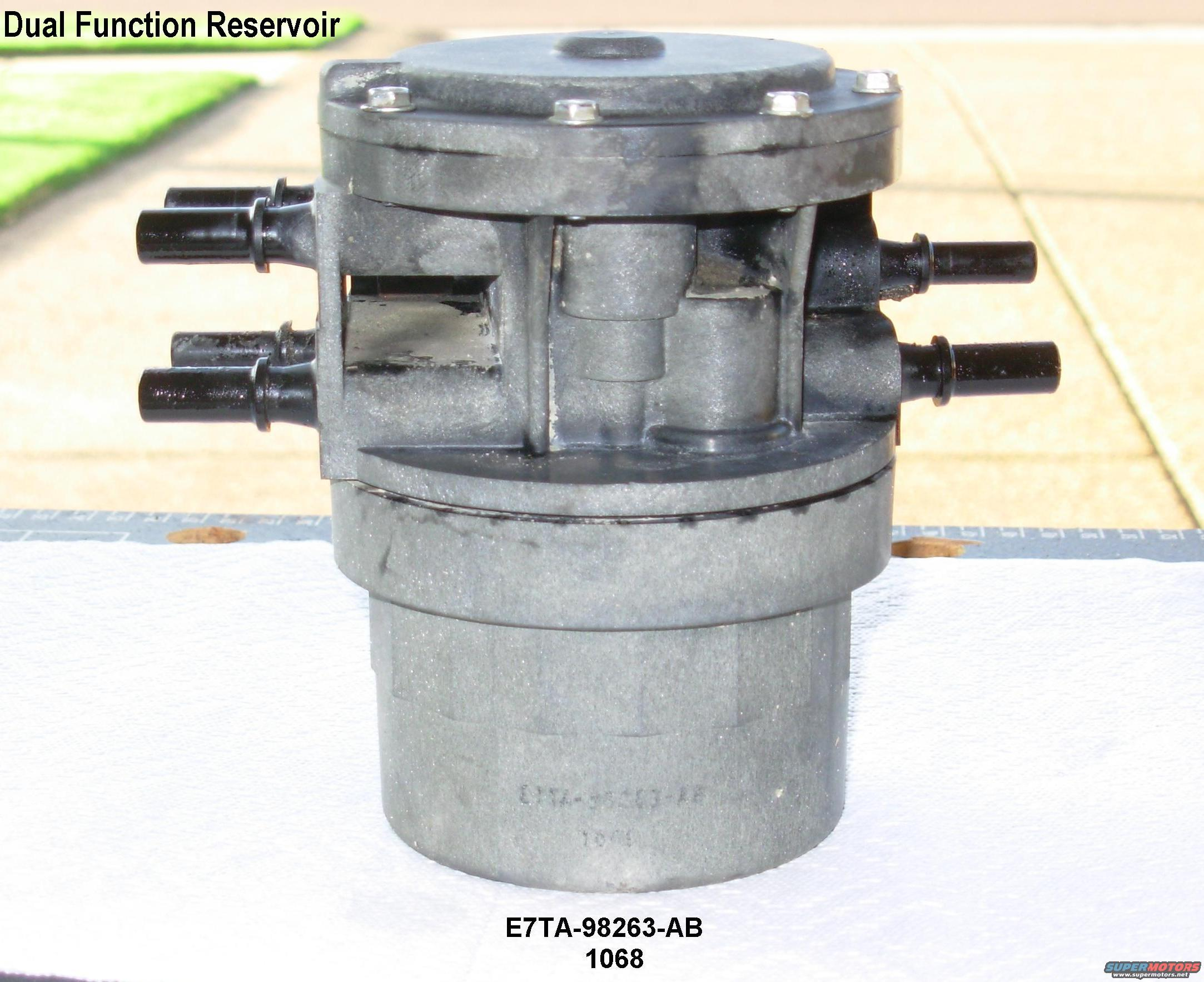 Ford Bronco 84 89 Fuel Reservoirs Picture