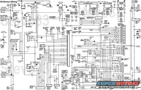 1989 ford bronco electrical diagrams  wiring diagram power
