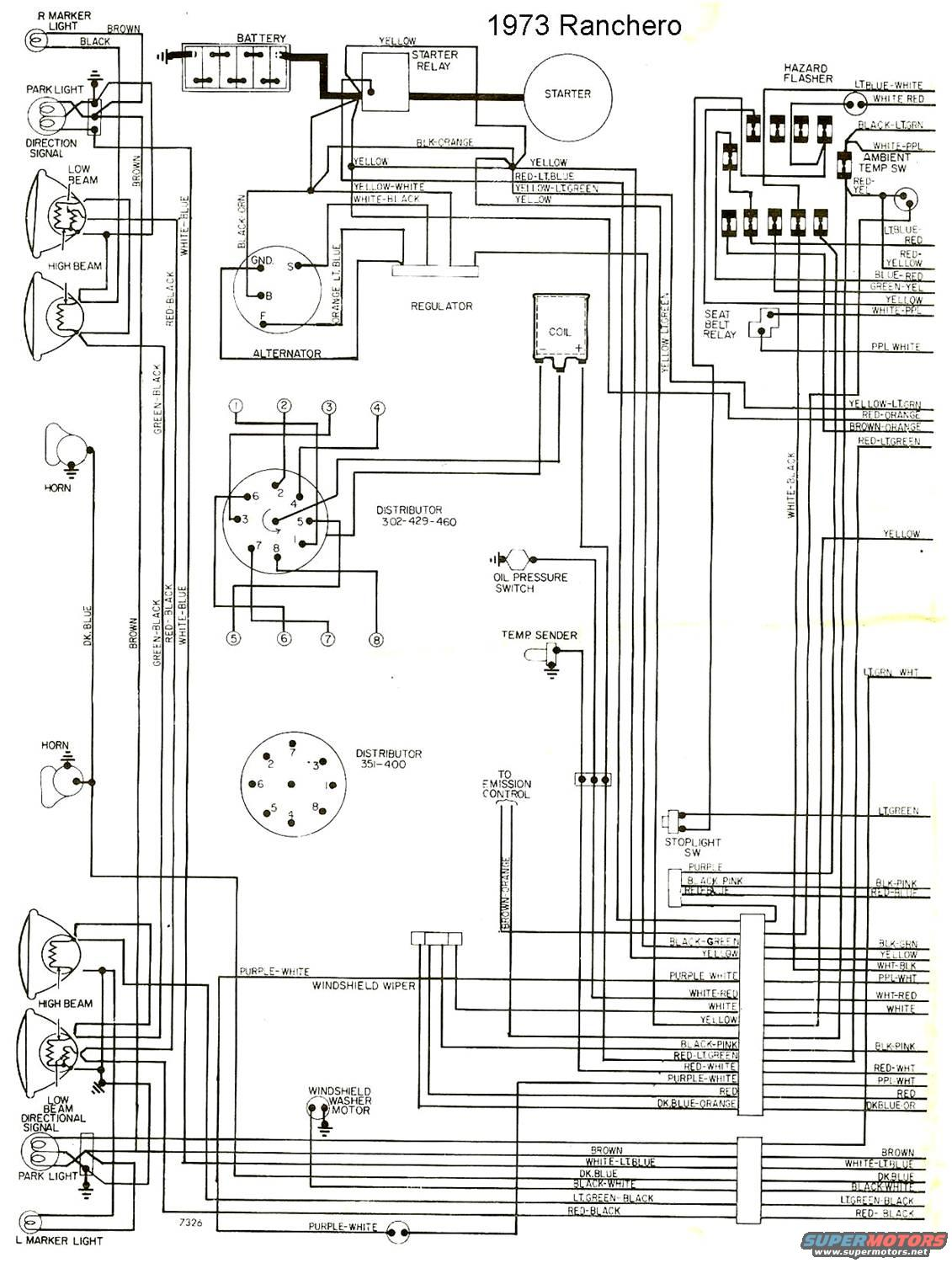 Ford Gran Torino Engine Diagram