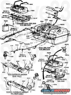 1983 Ford Bronco Diagrams picture | SuperMotors