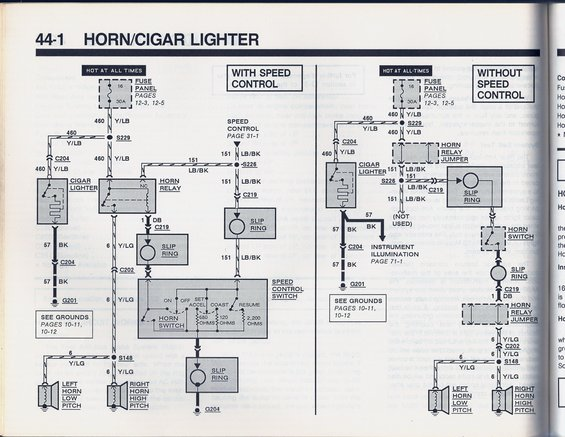 horn wiring  ford truck enthusiasts forums