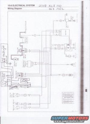 KLX 140 Headlight Installation  KLXKLR 125140250300