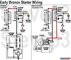 1976 Ford Bronco Tech Diagrams picture | SuperMotors