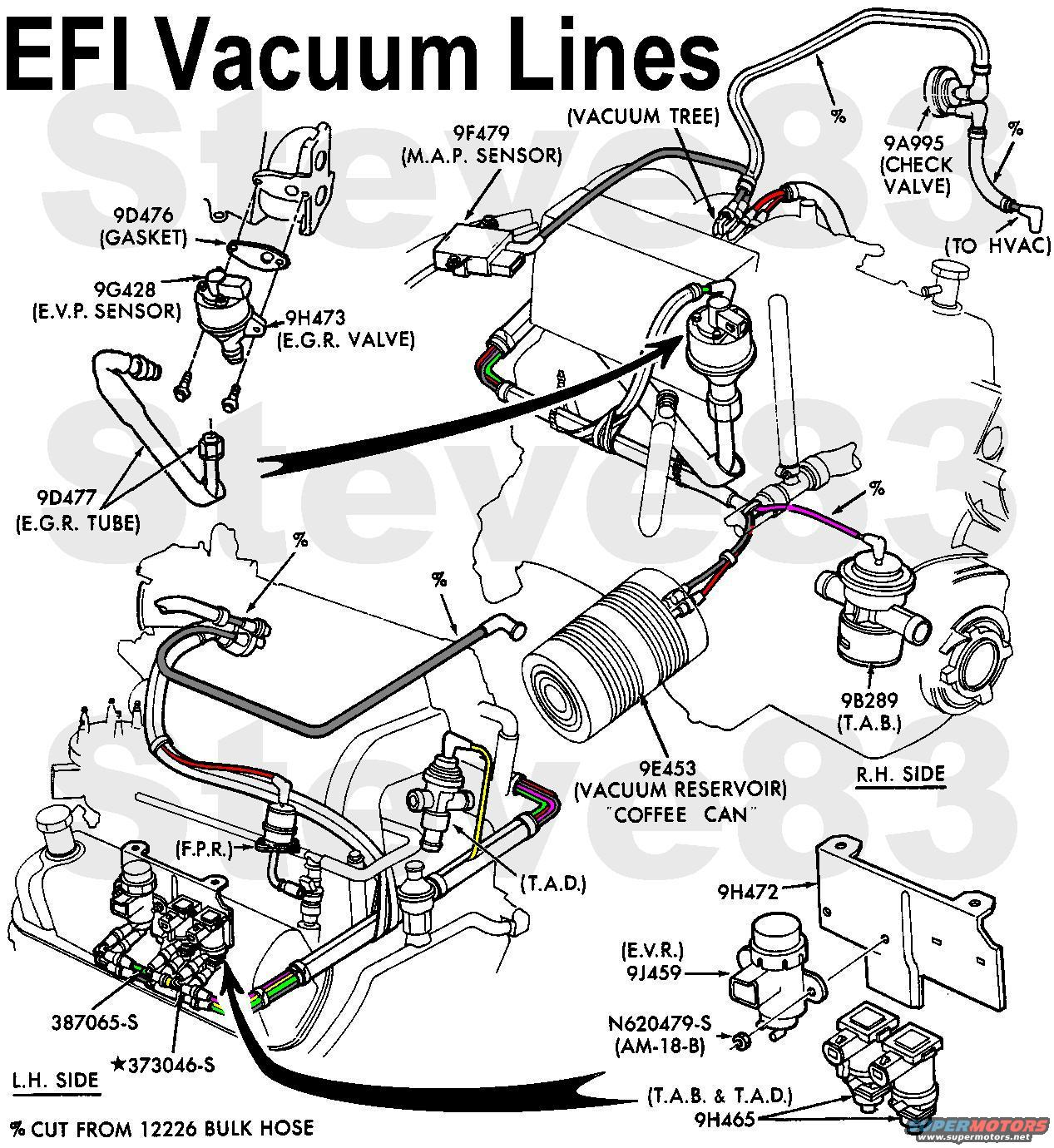 Ford F 150 Egr Valve In Addition Ford Mustang Vacuum