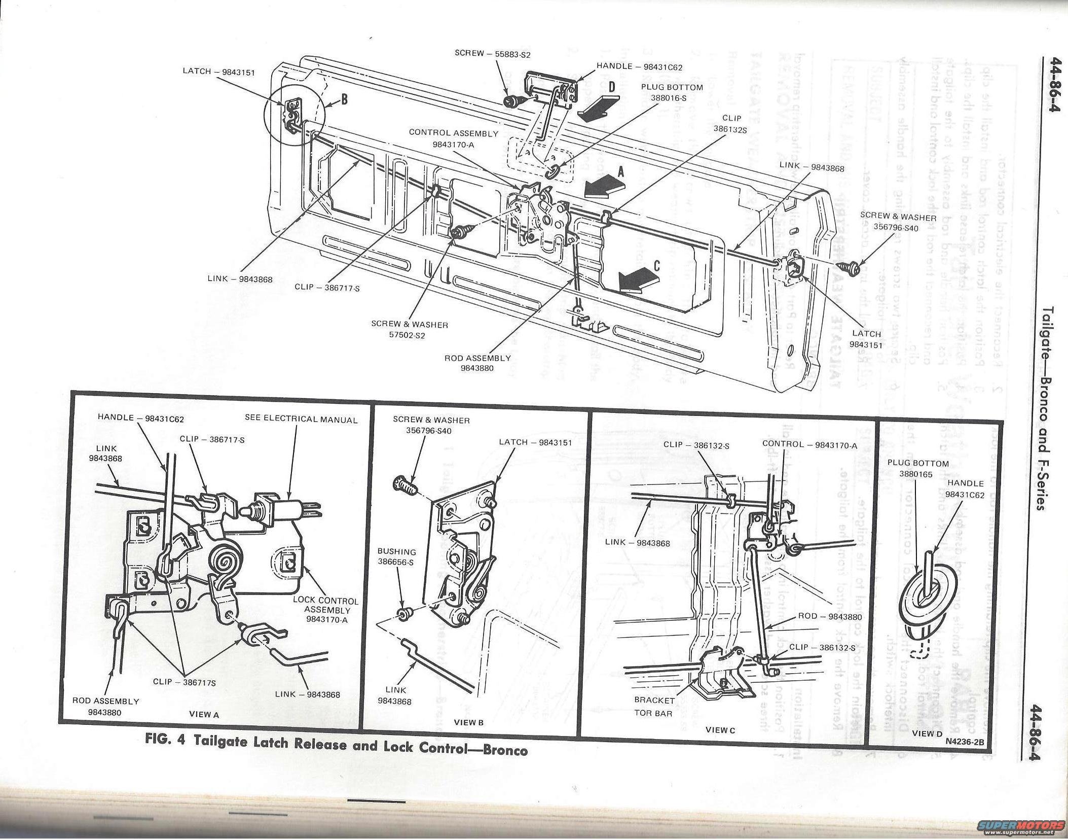 Tailgate Service Manual Pics