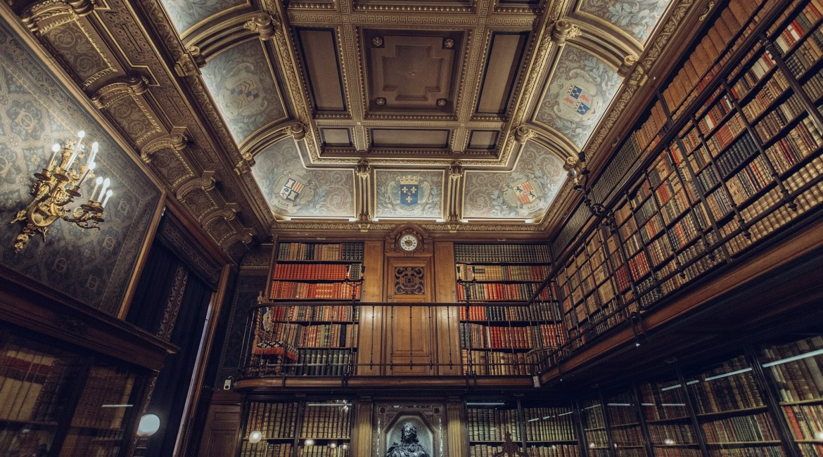 Library in Heaven