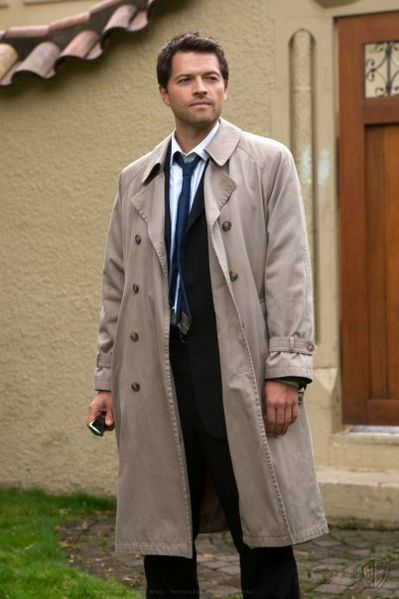 Trench Coats Classic Castiel Supernatural Business Suit Fashion Style