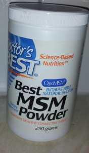 MSM powder