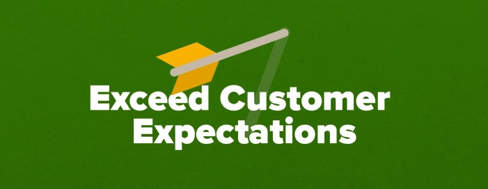 How to Exceed Customer Expectations (with 3 Examples)